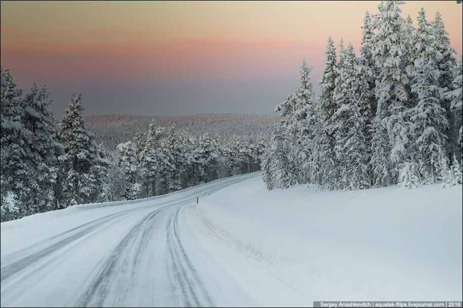 Winter roads in Finland 08