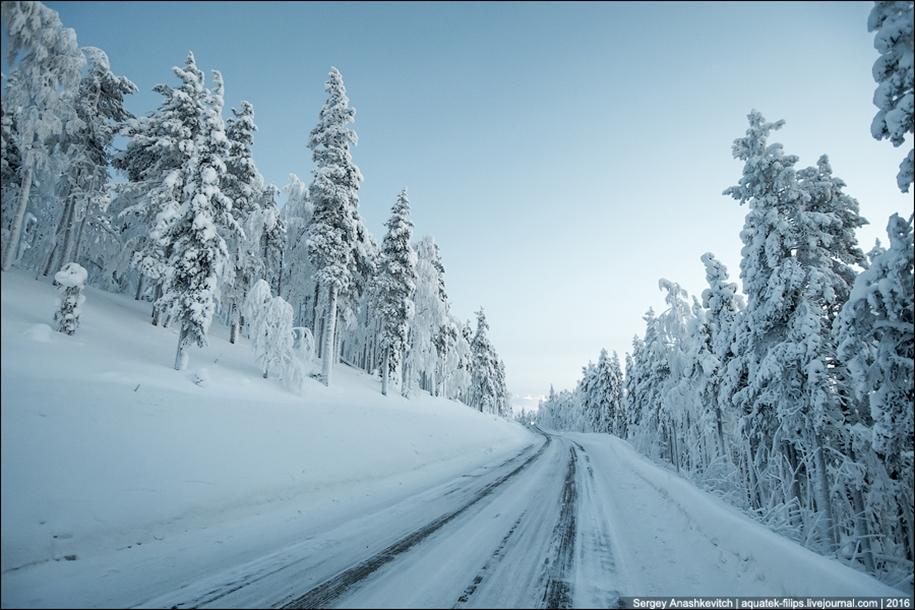 Winter roads in Finland 10