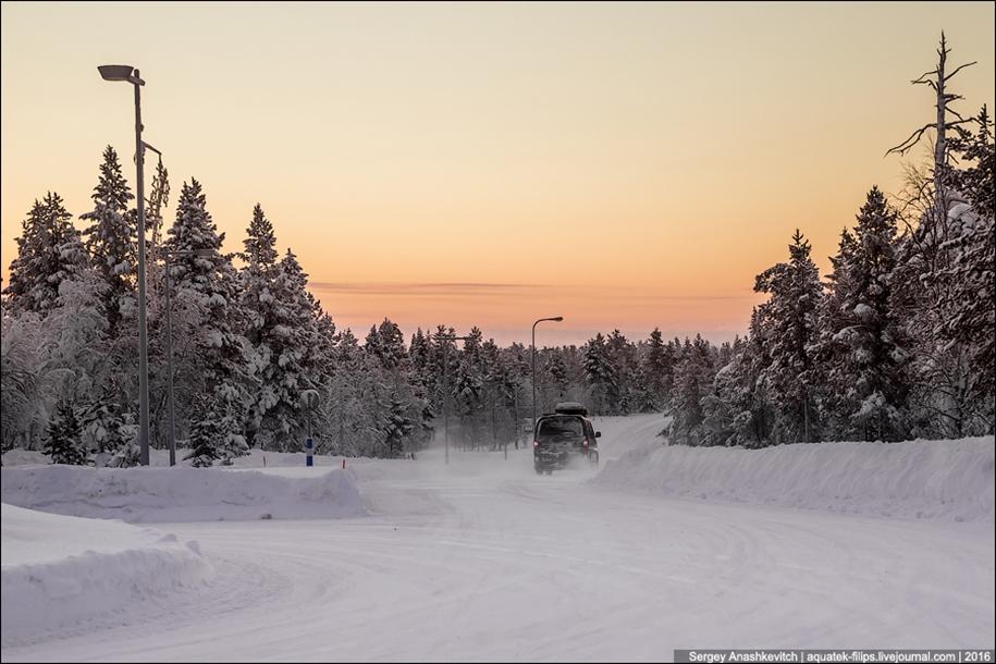 Winter roads in Finland 11