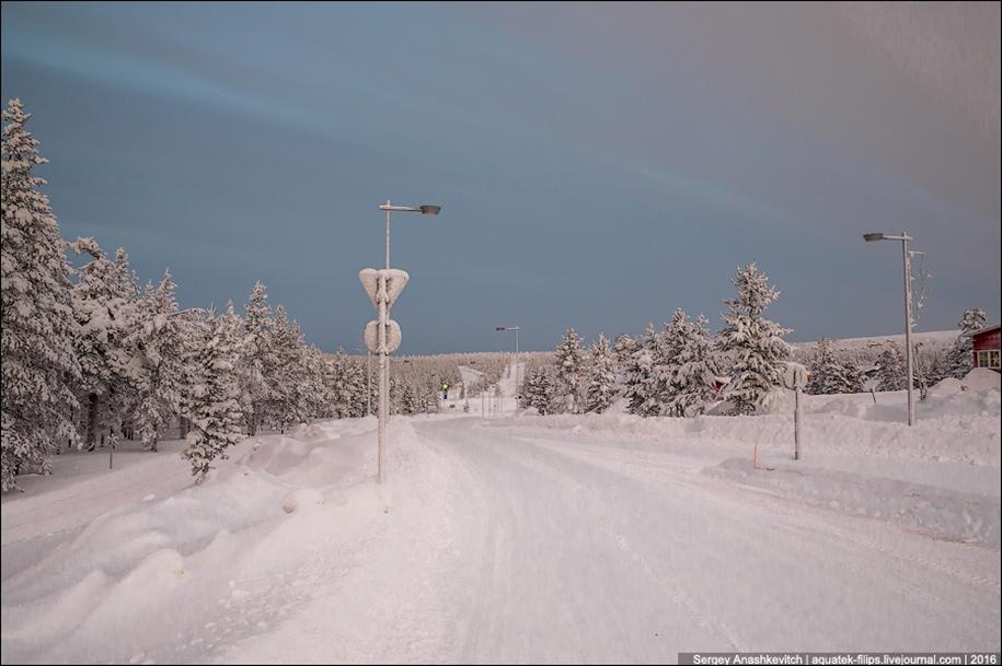 Winter roads in Finland 12