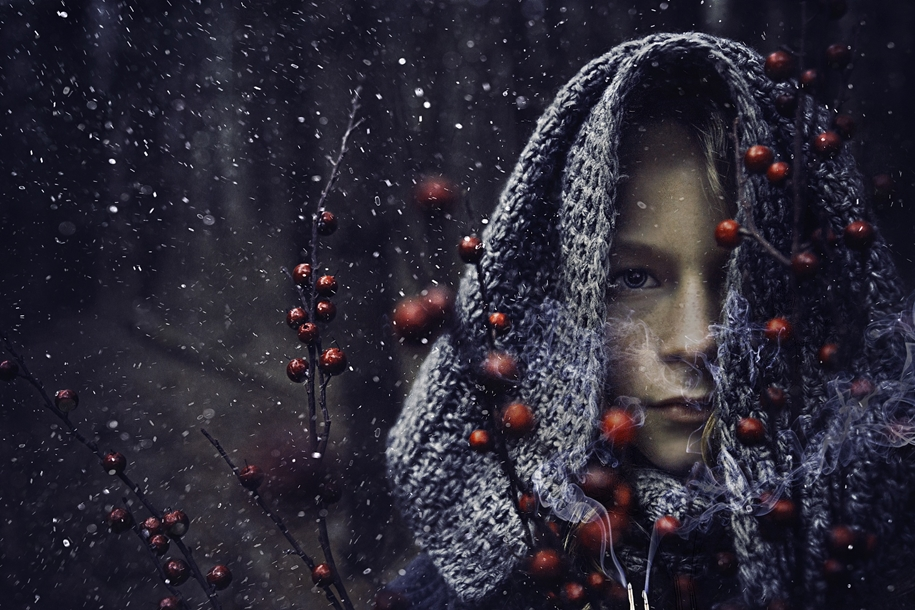 snow portraits that will inspire you on a winter photo shoot 08