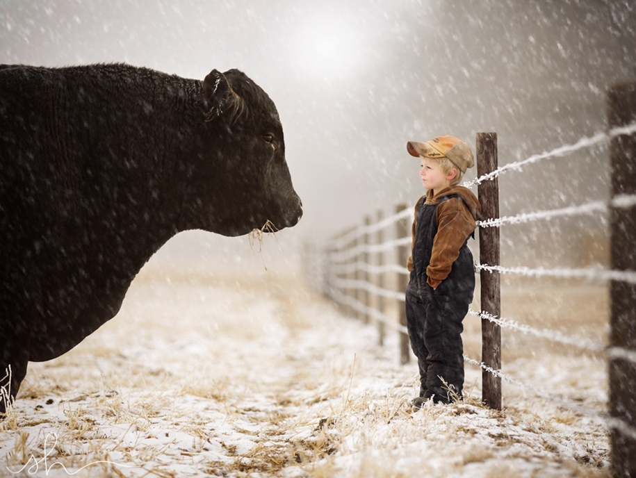 snow portraits that will inspire you on a winter photo shoot 15
