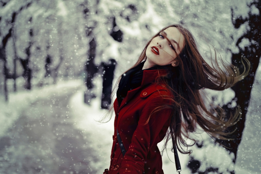 snow portraits that will inspire you on a winter photo shoot 20