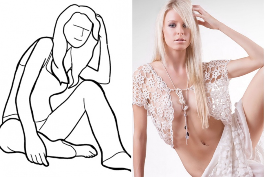 20 successful female poses for the photoshoot 07