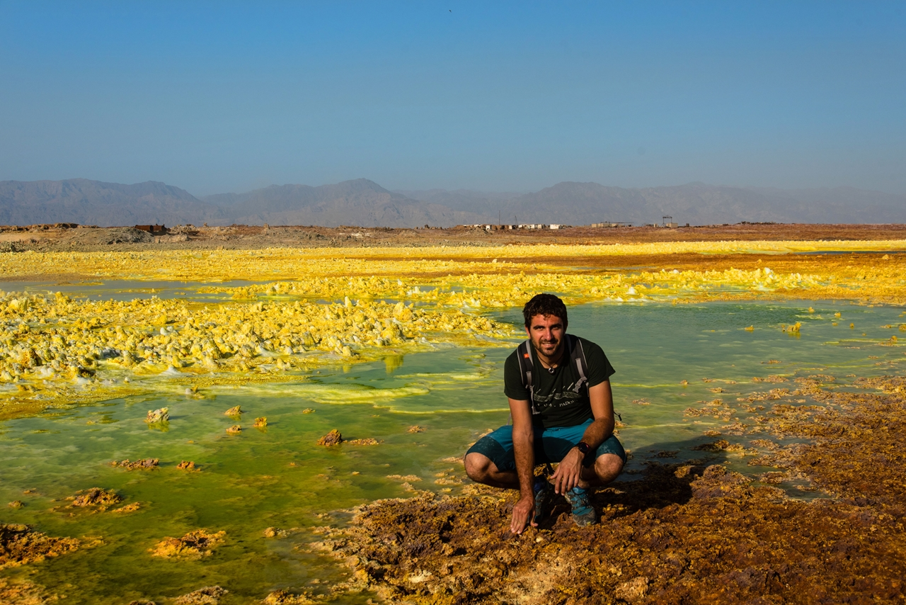 Alien planet. Dallol volcano 04