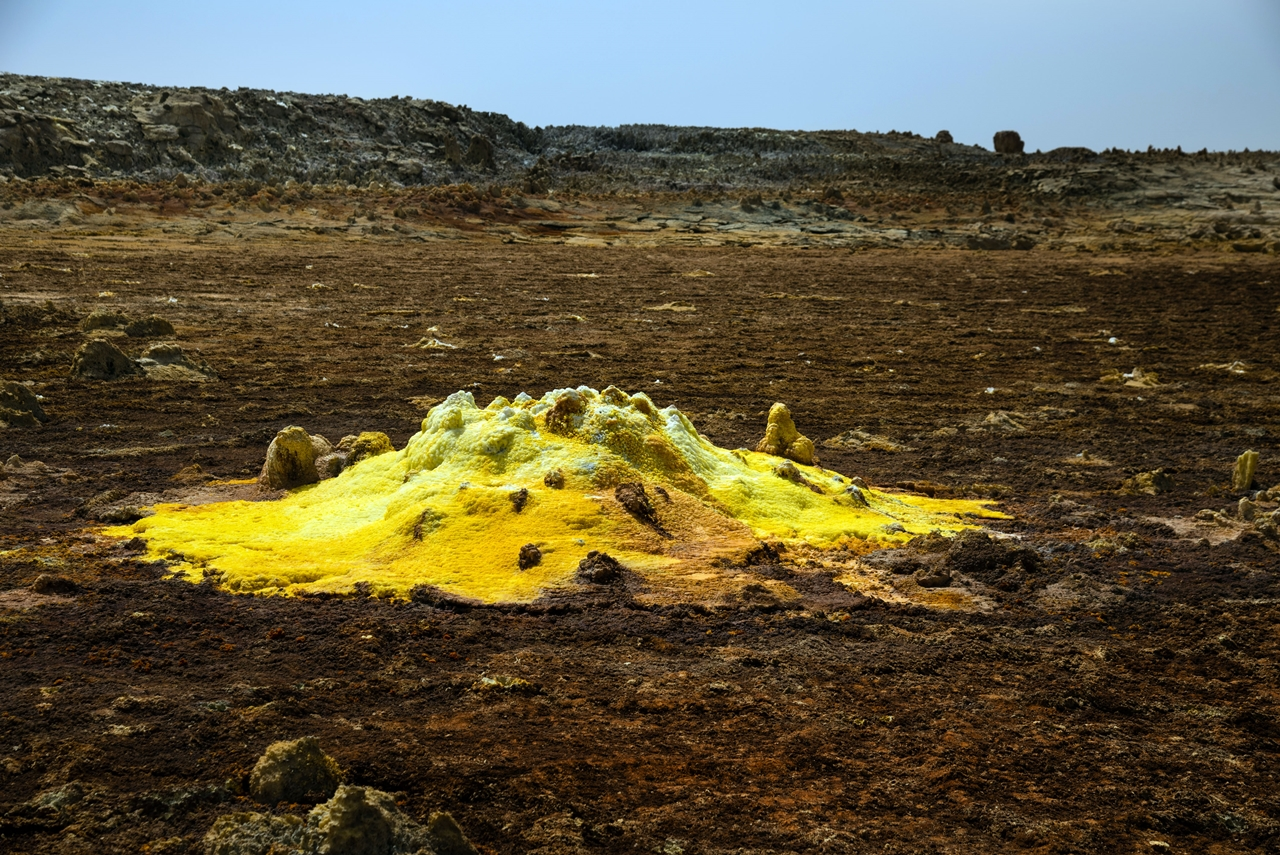 Alien planet. Dallol volcano 08