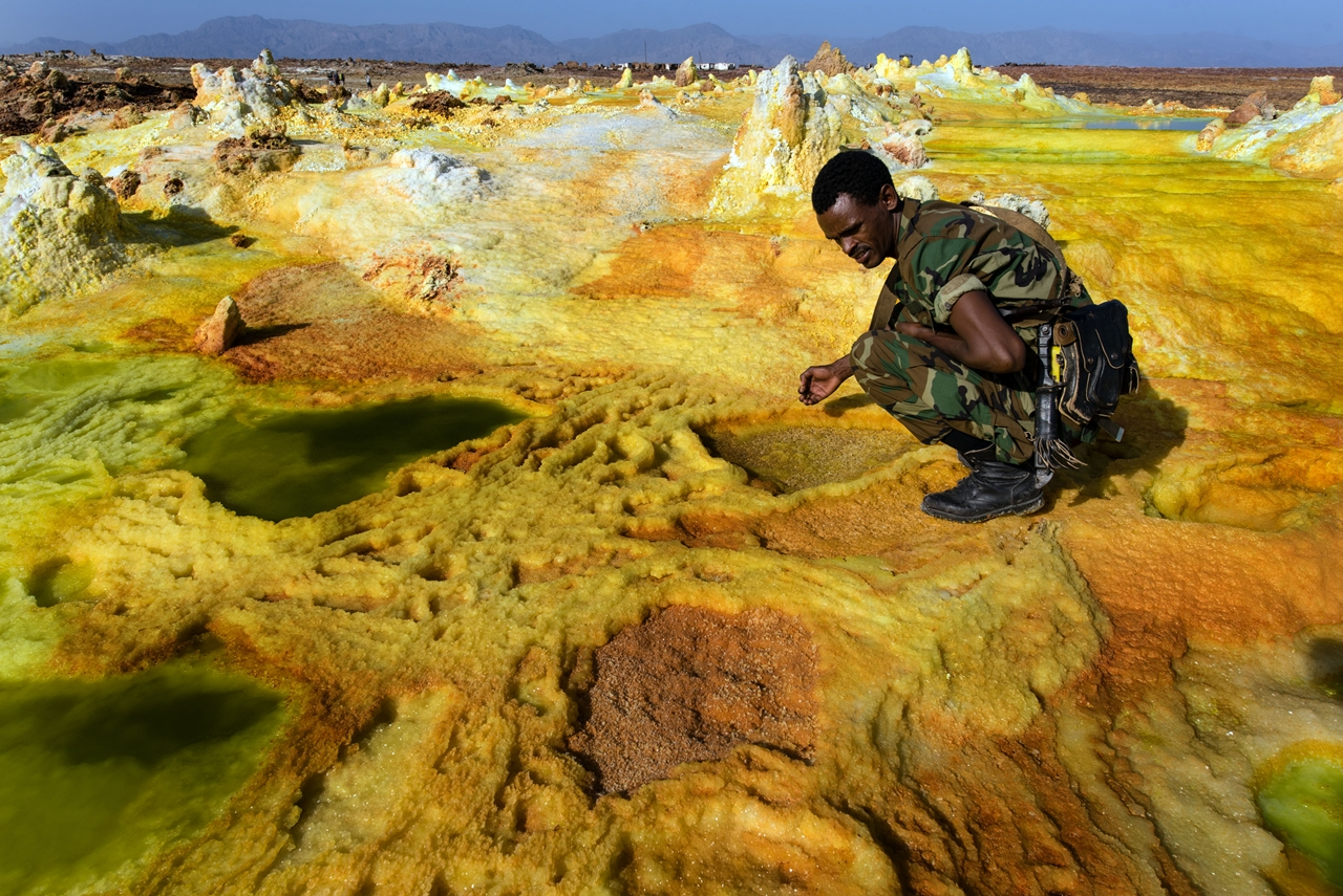 Alien planet. Dallol volcano 09