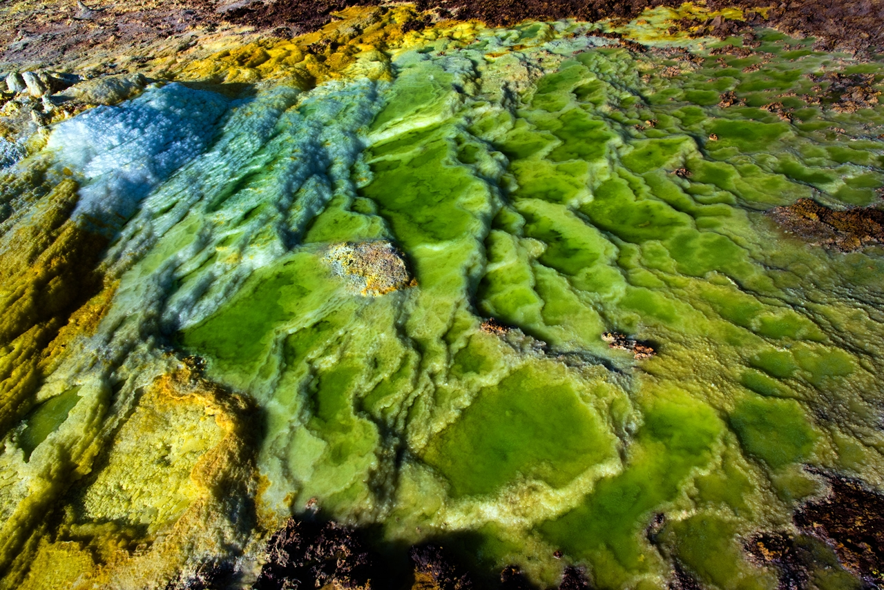 Alien planet. Dallol volcano 12