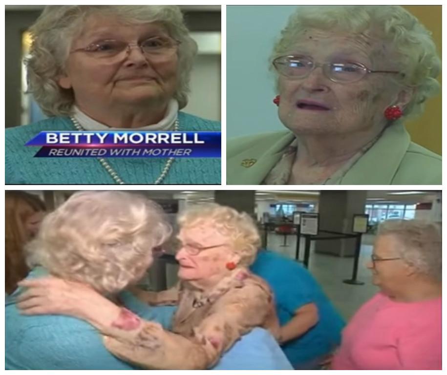 Спустя 82 года дочь нашла свою маму