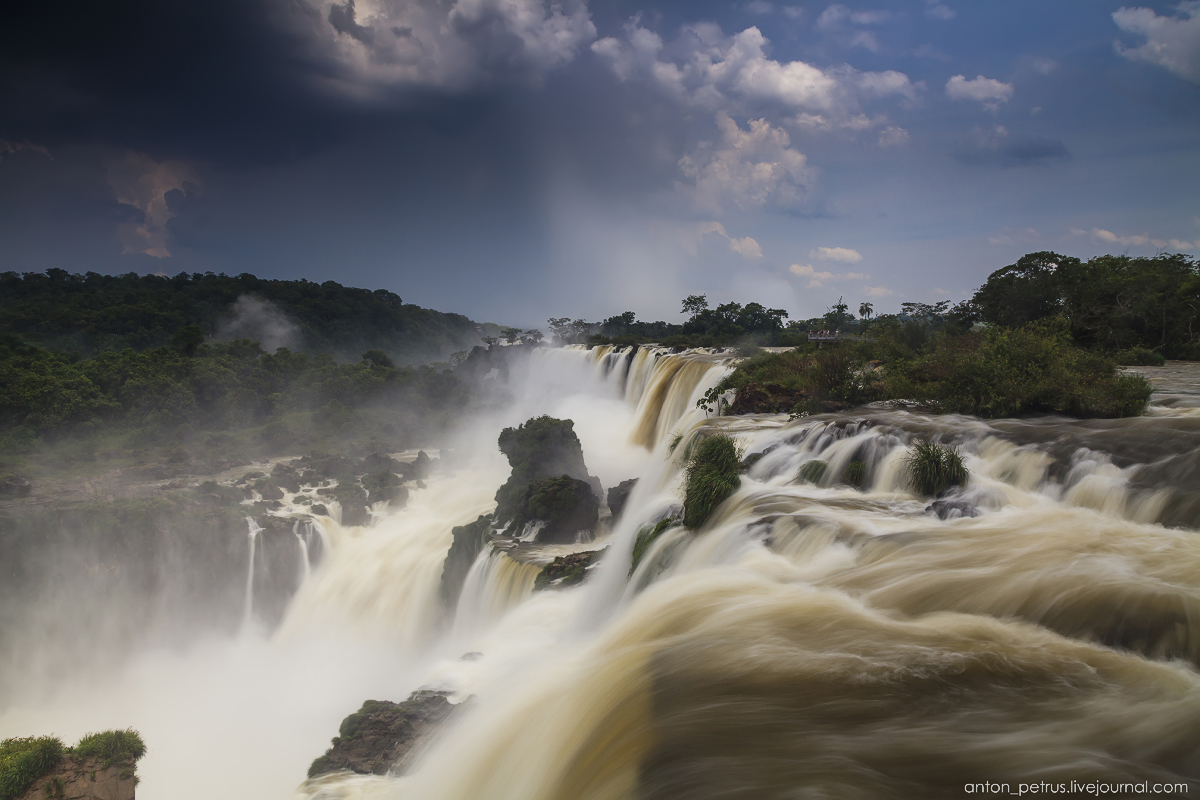 Big water - Iguazu falls 07