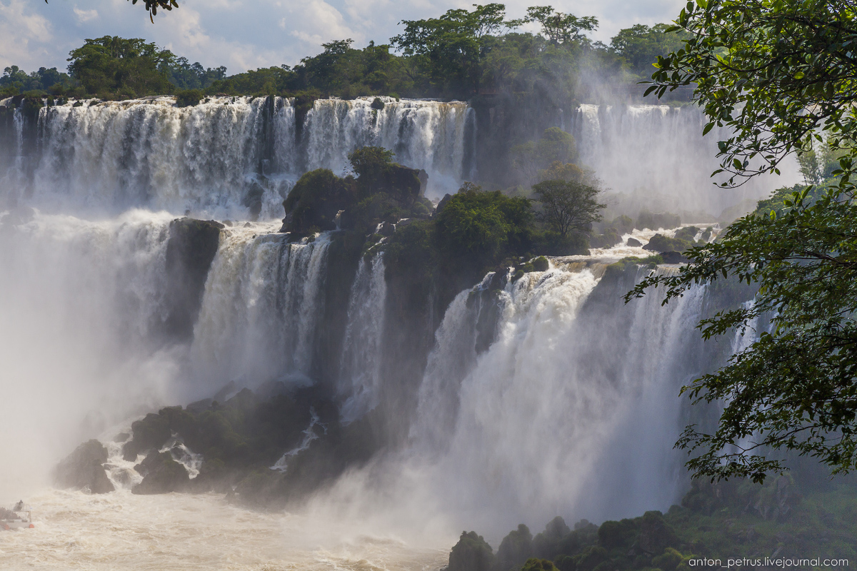 Big water - Iguazu falls 09