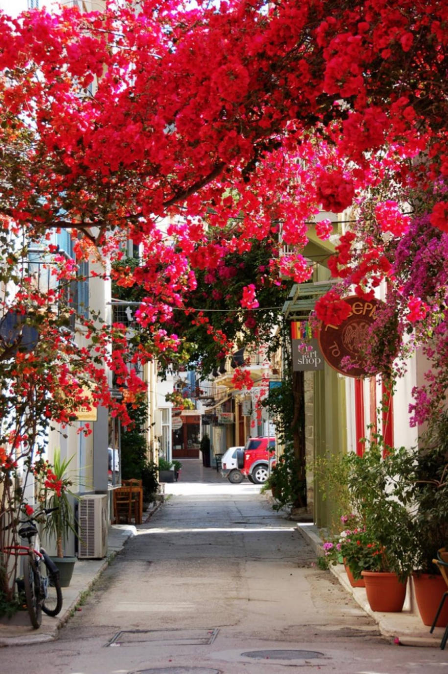 Colorful alleys from around the world 25