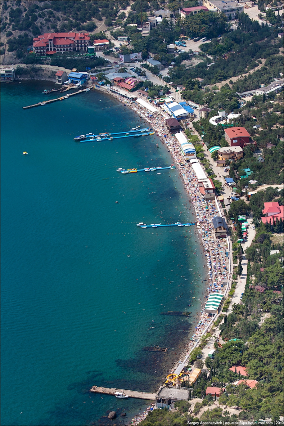 Crimea. To visit the largest in Europe coral reef 18