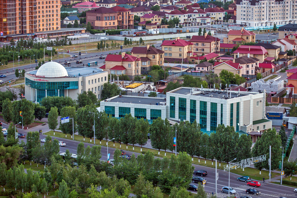 Evening Astana from the height 07