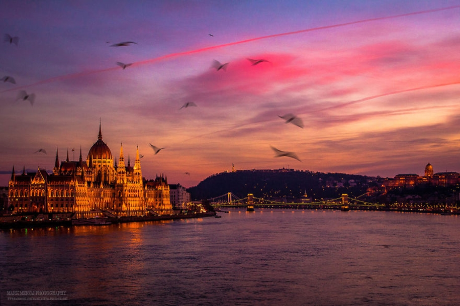 Evening Budapest in an ideal world 02