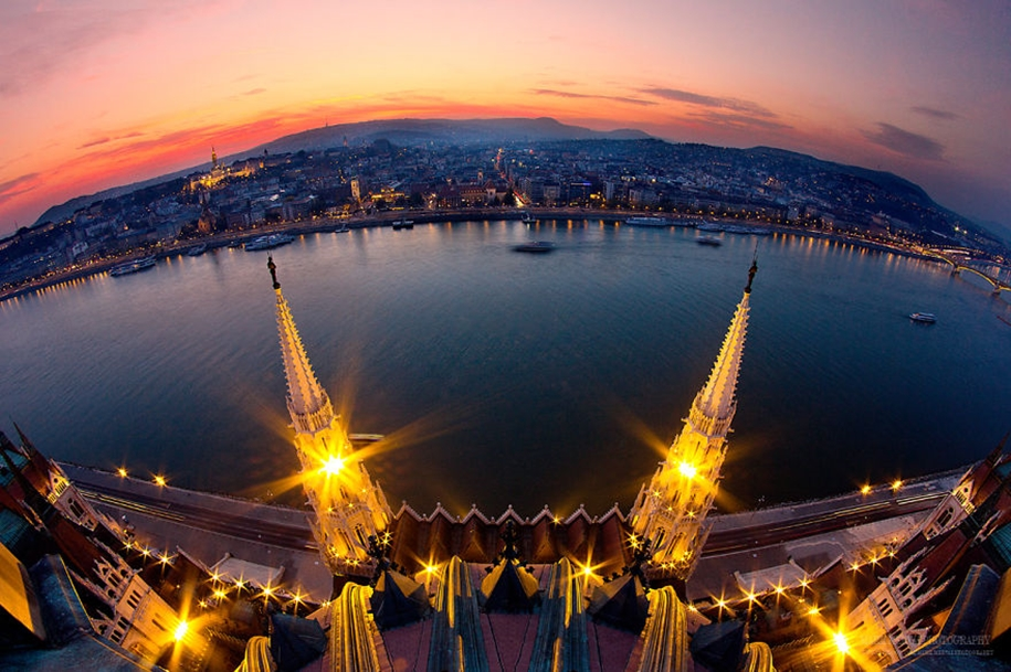 Evening Budapest in an ideal world 13