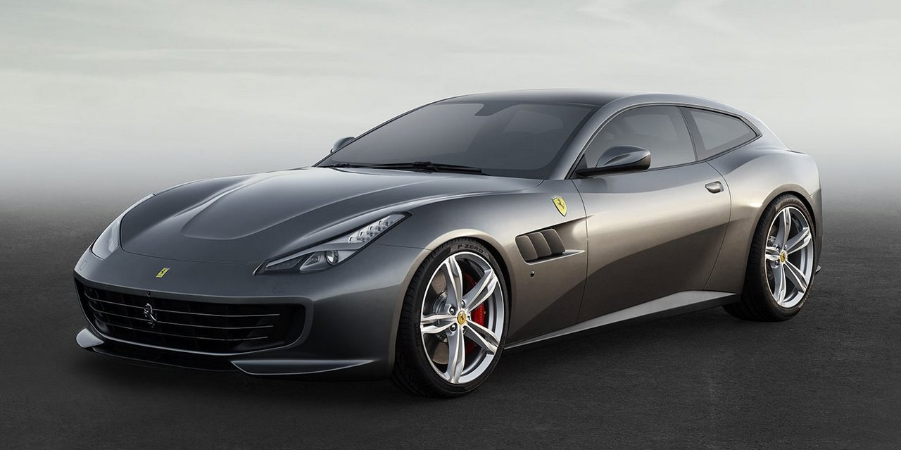 Four-wheel drive concept car Lusso Ferrari GTC4 00