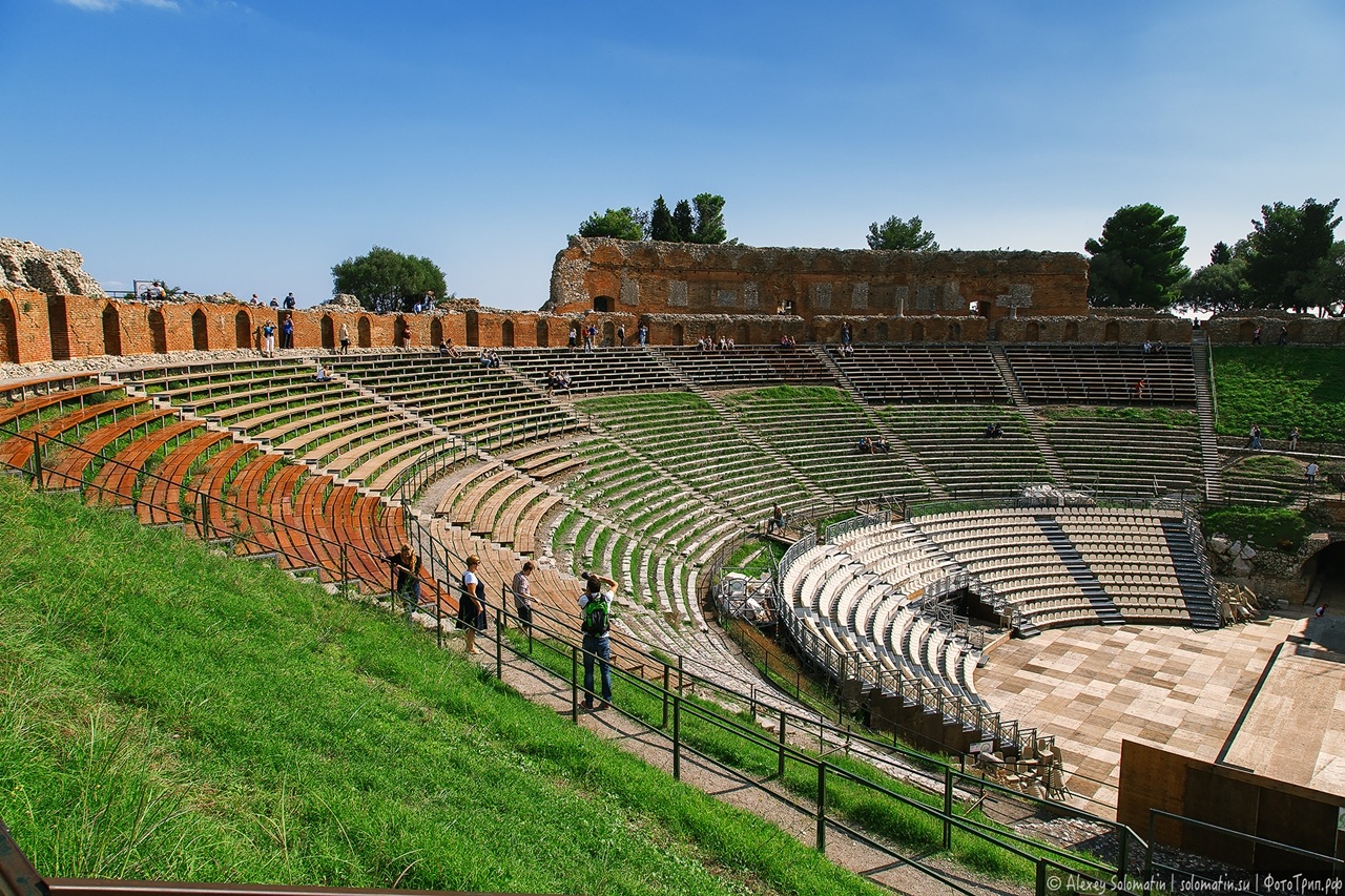 Greek theatre in Taormina 28