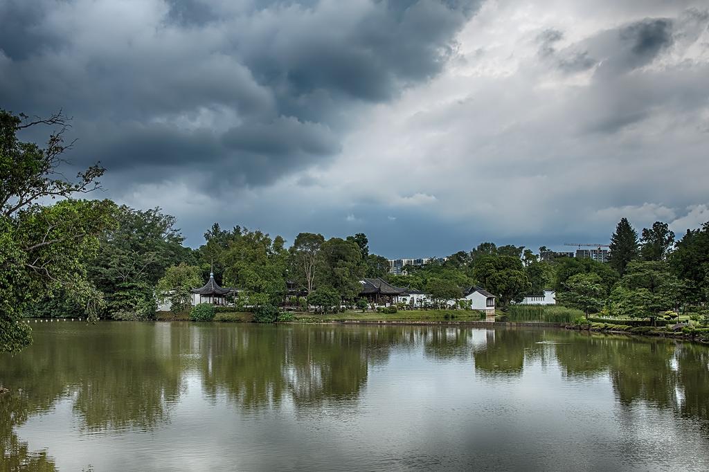Islands on the lake Jurong 07