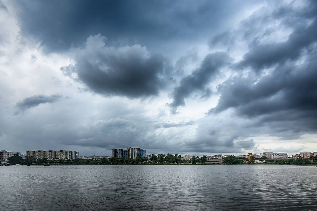 Islands on the lake Jurong 15