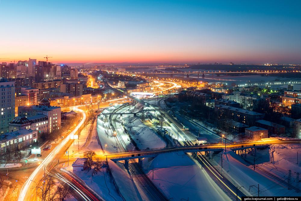 Новосибирск. Зима 2016