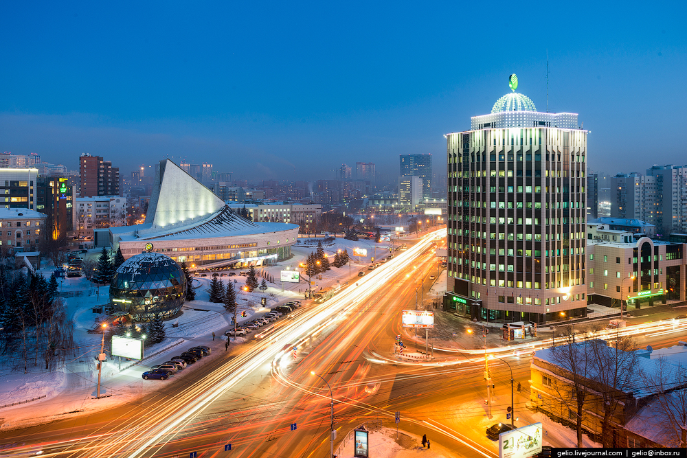 Novosibirsk. Winter 2016 11