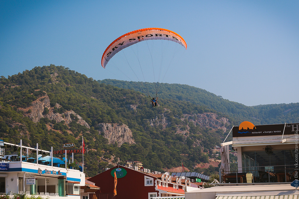 Paragliding in Oludeniz. Extreme available to everyone 04