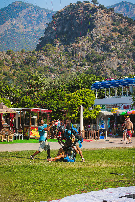 Paragliding in Oludeniz. Extreme available to everyone 05