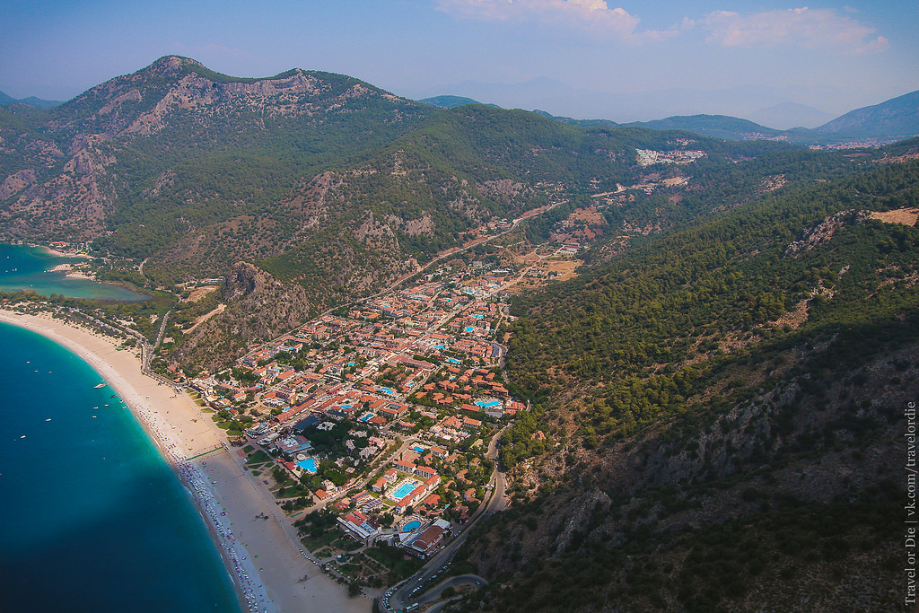 Paragliding in Oludeniz. Extreme available to everyone 24