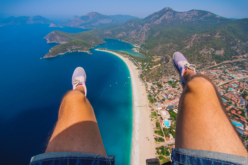Paragliding in Oludeniz. Extreme available to everyone 28