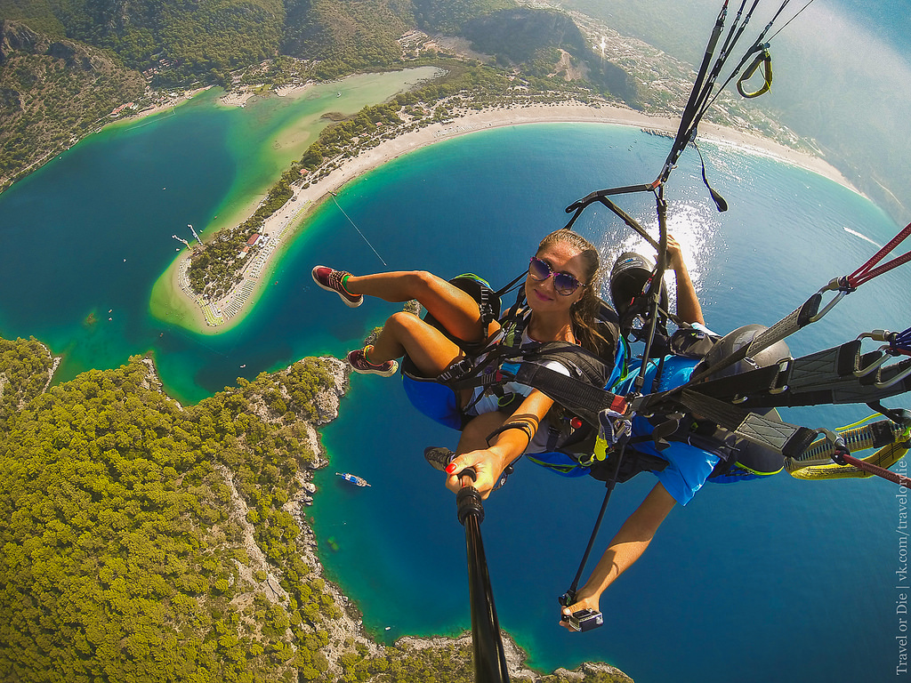 Paragliding in Oludeniz. Extreme available to everyone 30