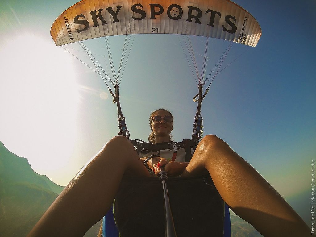 Paragliding in Oludeniz. Extreme available to everyone 33