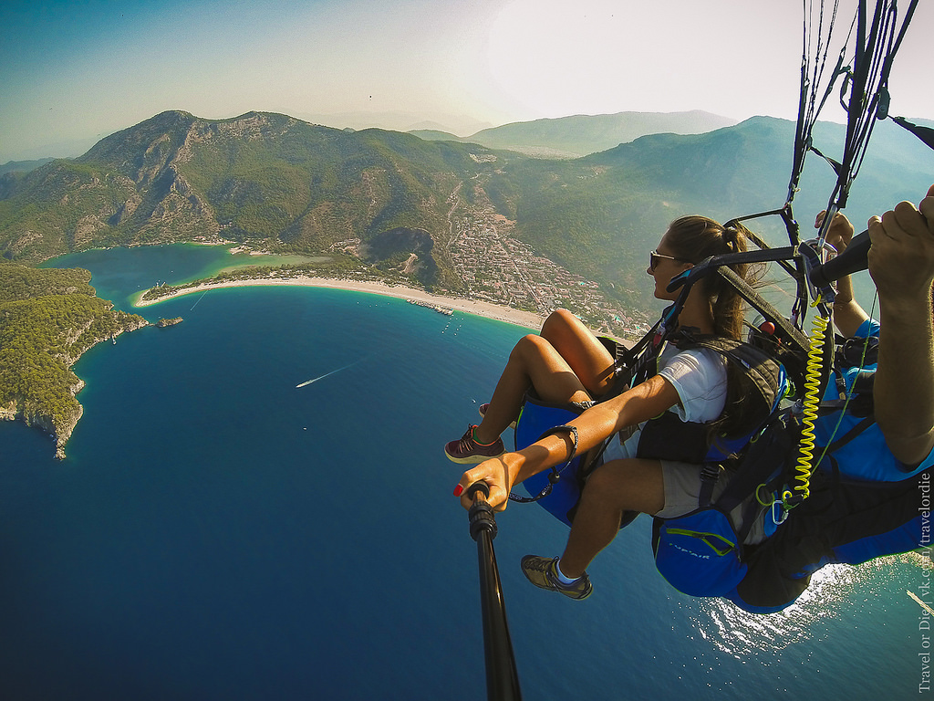 Paragliding in Oludeniz. Extreme available to everyone 35