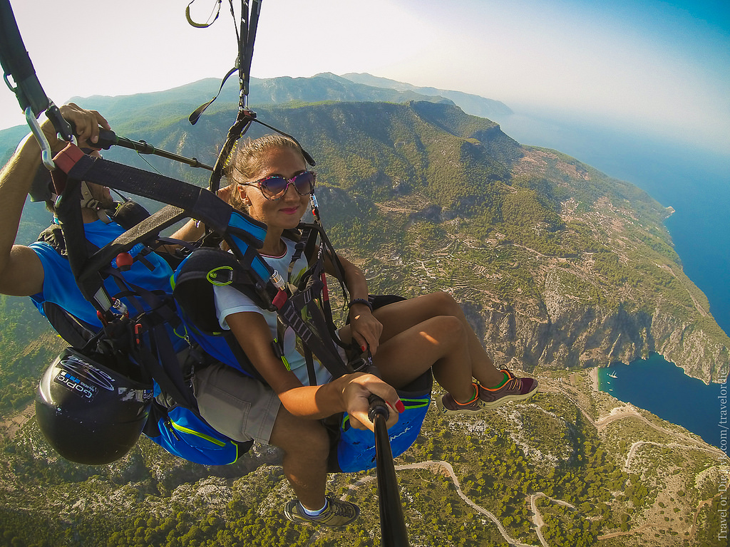 Paragliding in Oludeniz. Extreme available to everyone 36