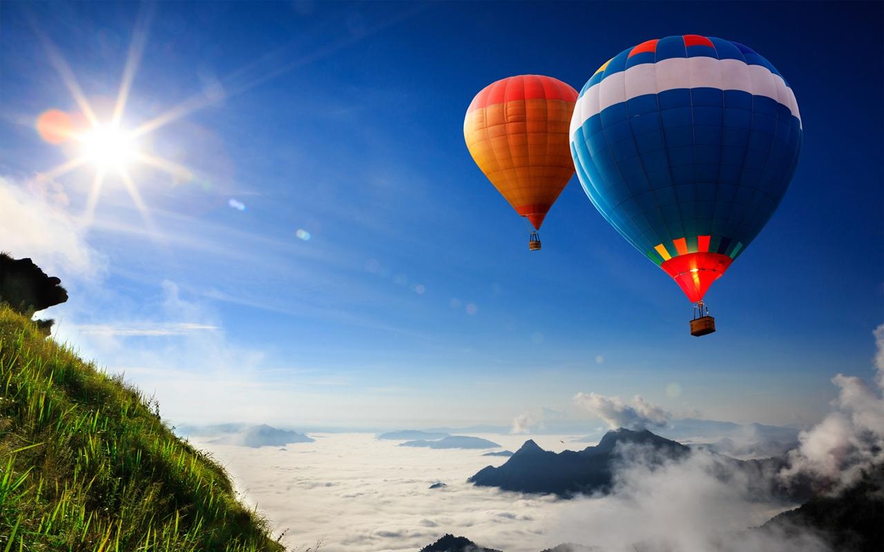 Красивые фотографии и картинки воздушных шаров