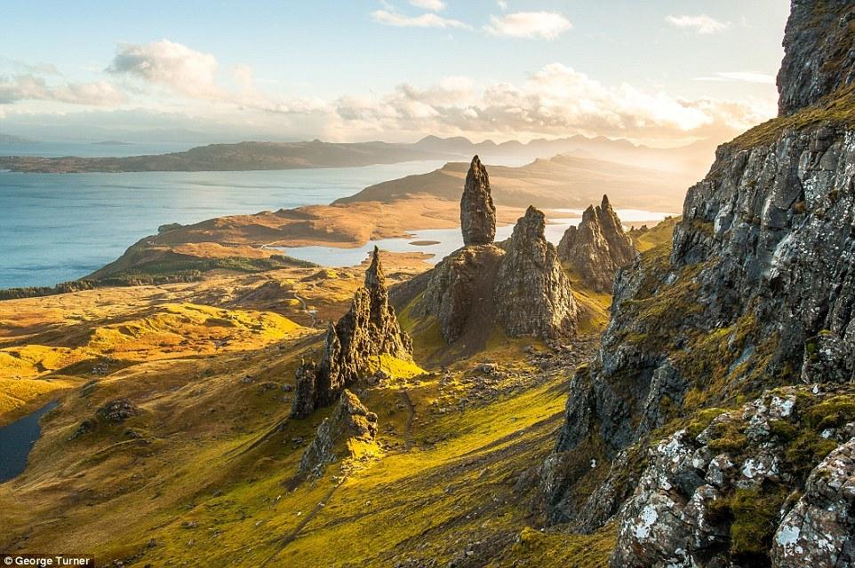 Picturesque scenery of Scotland 06