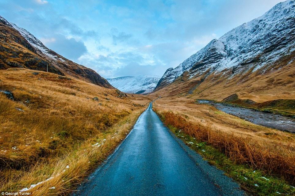 Picturesque scenery of Scotland 08