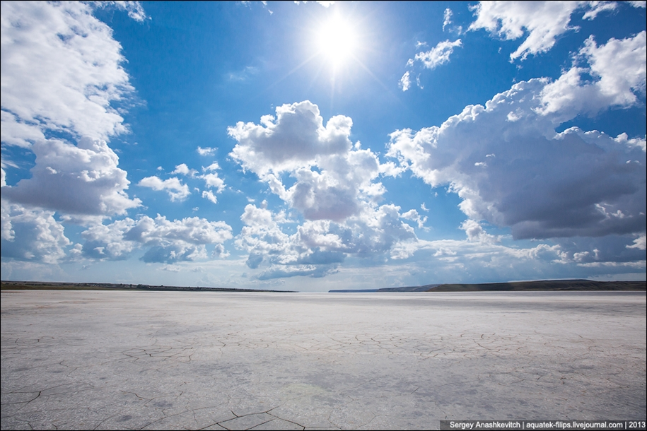 Salt desert of Crimea 11