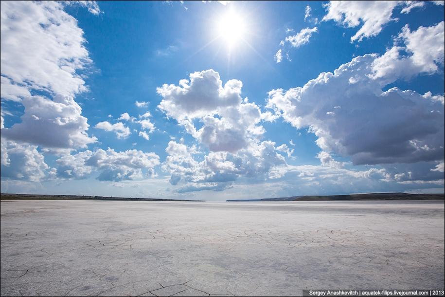 Salt desert of Crimea 11