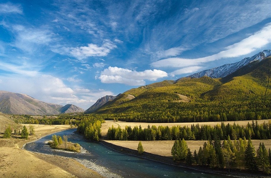 The Chuya river is one of the main beauties of Altai 06