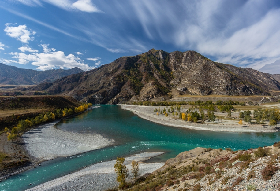 The Chuya river is one of the main beauties of Altai 09