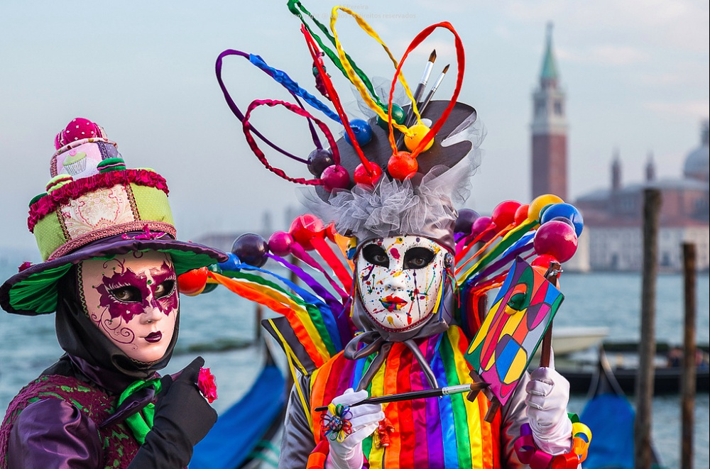 The magical atmosphere of the Venetian carnival 05