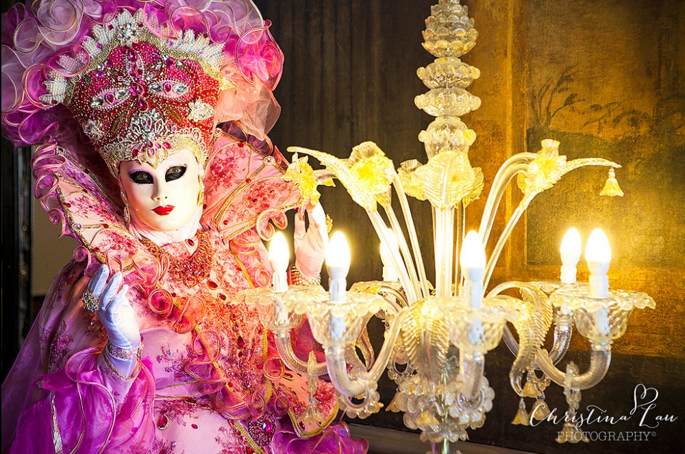 The magical atmosphere of the Venetian carnival 18
