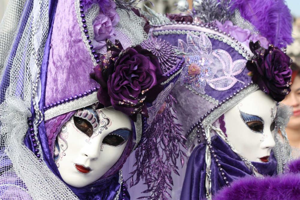 The magical atmosphere of the Venetian carnival 20