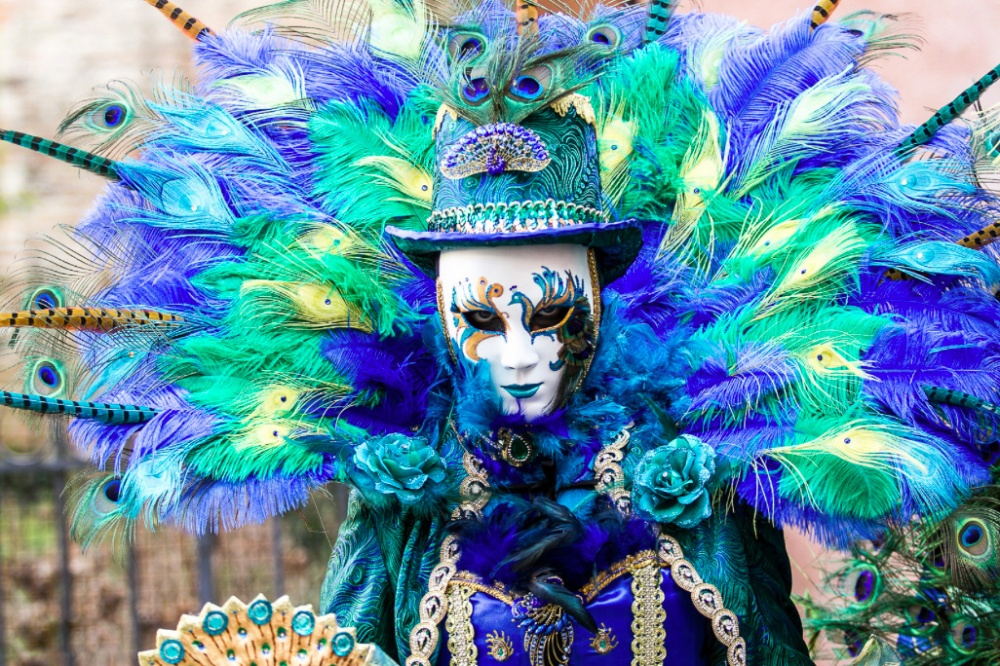 The magical atmosphere of the Venetian carnival 23