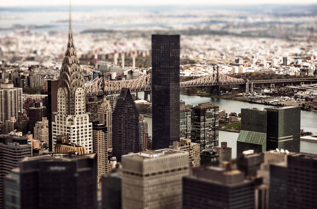 Tiny cities and with the effect of tilt-shift 16