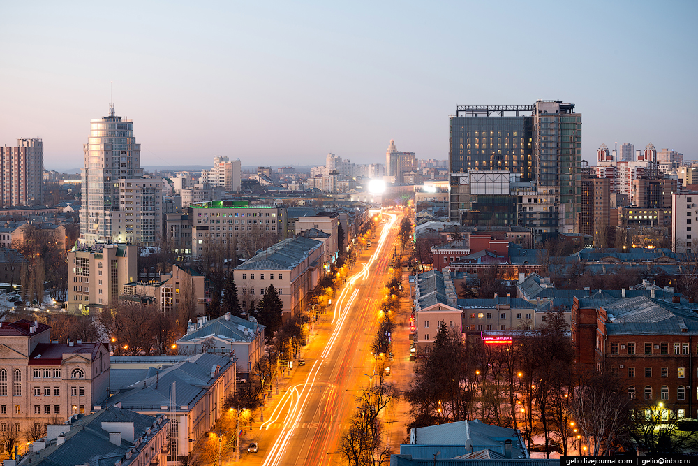 Voronezh from the height 12