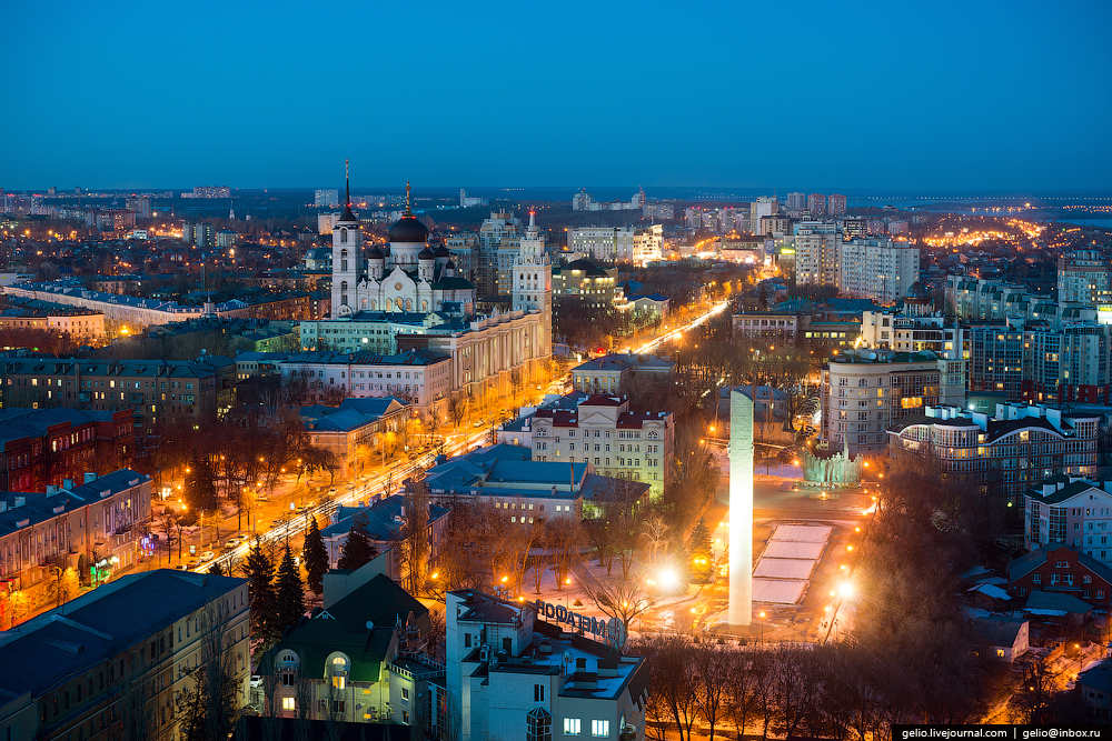 Voronezh from the height 15