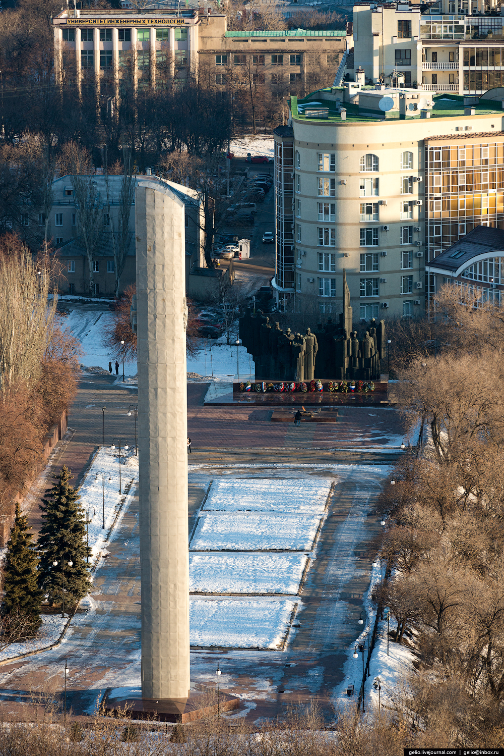 Voronezh from the height 16