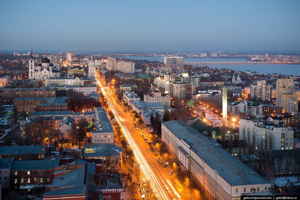 Voronezh from the height 20